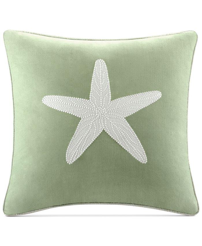 "Harbor House - Brisbane 180-Thread Count 18"" Square Decorative Pillow"