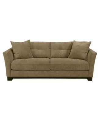 Charming Elliot Fabric Microfiber Queen Sleeper Sofa Bed