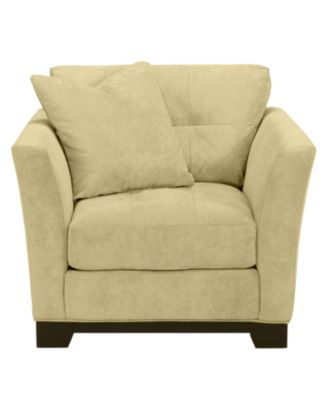 elliot fabric microfiber living room chair: custom colors