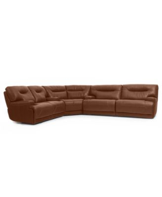 Ricardo Leather Sectional Living Room Furniture Collection