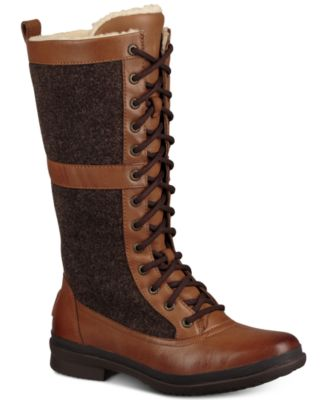 UGG® Women's Elvia Tall Lace-Up Boots