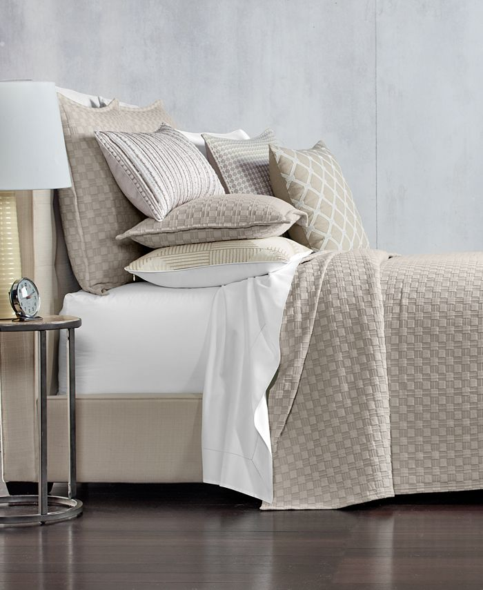 Hotel Collection - Quilted Full/Queen Coverlet
