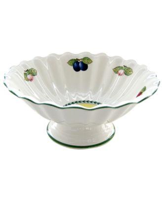 Villeroy & Boch Dinnerware, French Garden Footed Fruit Bowl