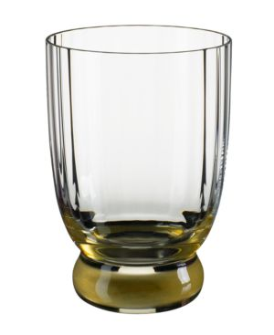 Closeout! Villeroy & Boch Drinkware, New Cottage Amber Double Old Fashioned Glass