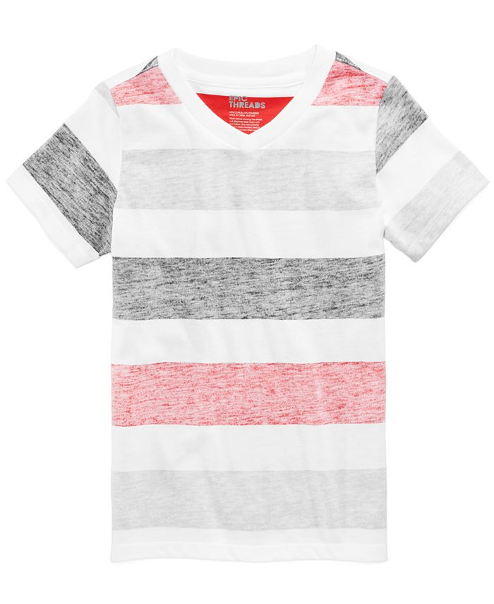 Epic Threads - Striped T-Shirt, Little Boys (2-7)