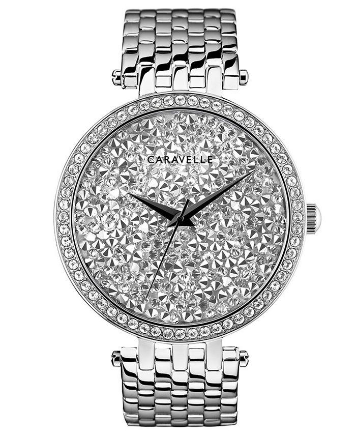 Caravelle - Women's Stainless Steel Bracelet Watch 38mm