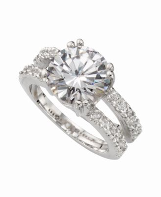 Charter Club Ring Set Cubic Zirconia Engagement 3 ct tw