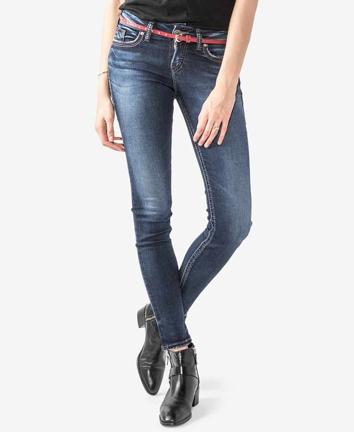 Silver Jeans Co. - Juniors' Suki Super-Skinny Jeans