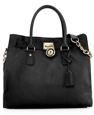 MICHAEL Michael Kors Handbag, Hamilton Tote, Large - MICHAEL Michael Kors - Handbags & Accessories  - Macy's from macys.com