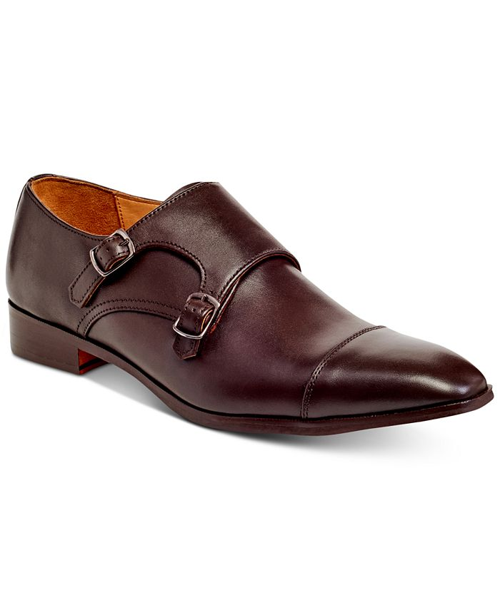 Carlos by Carlos Santana - Men's Passion Double Monk-Strap Loafers