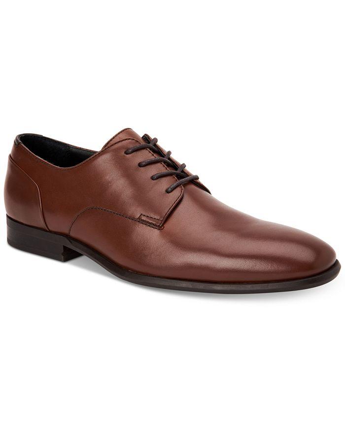 Calvin Klein - Men's Lucca Leather Dress Shoes