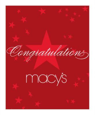Congratulations E-Gift Card - Gift Cards - Macy's
