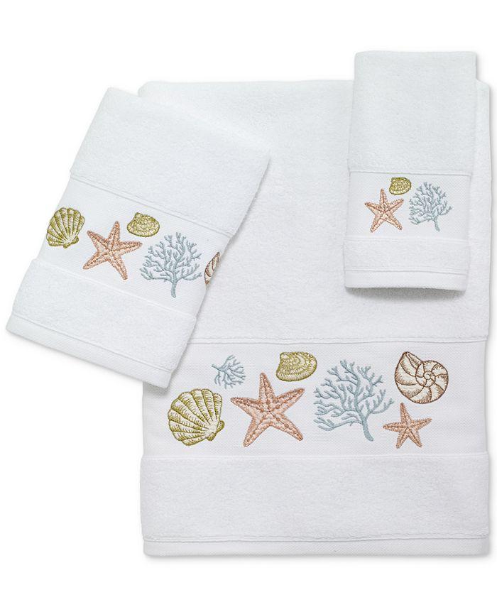Avanti - Grover Beach Cotton Embroidered Bath Towel