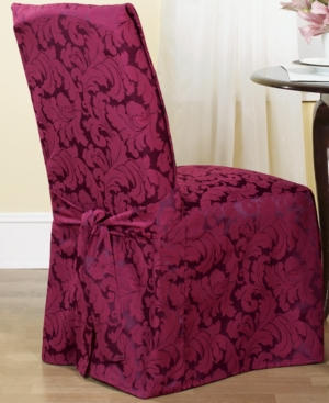Sure Fit Slipcovers, Scroll Dining Room Chair Cover Bedding