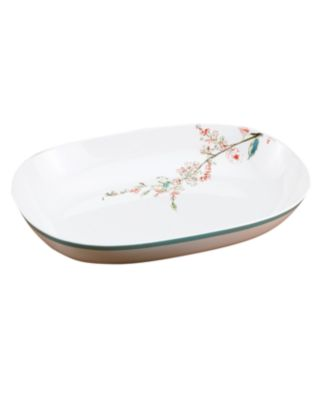 Lenox Simply Fine Dinnerware, Chirp Oblong Serving Bowl