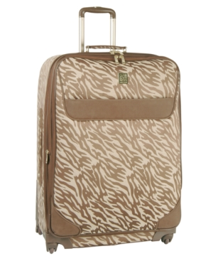 "Anne Klein Suitcase, 20"" Lion's Mane Rolling Spinner Upright"