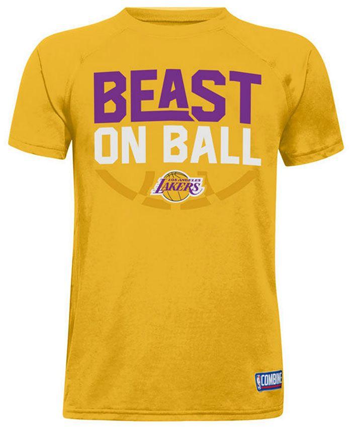Under Armour - Combine Beast on Ball T-Shirt, Big Boys (8-20)