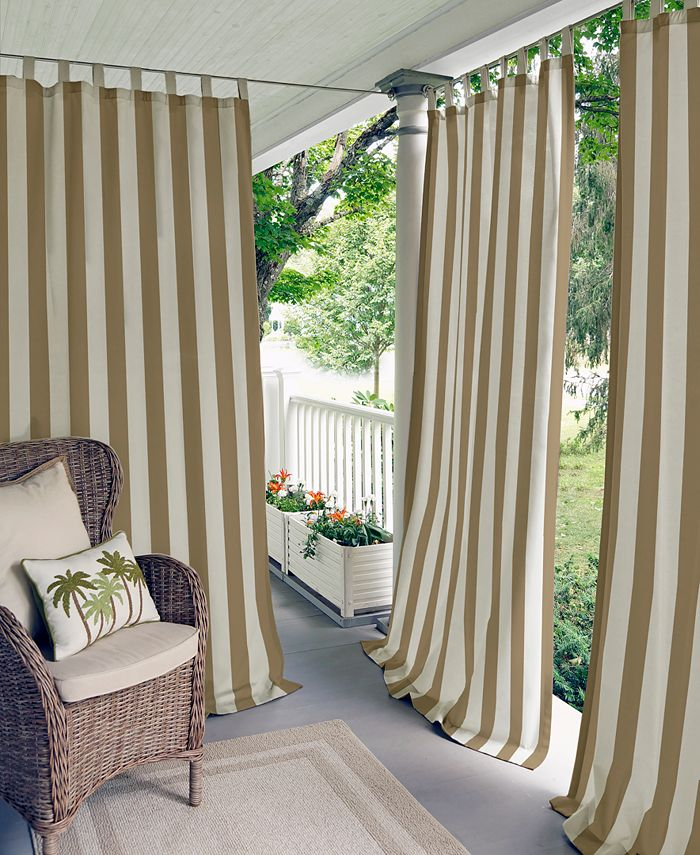 Elrene - Highland Stripe Indoor/Outdoor Panel Collection