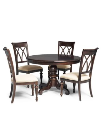 delmont 5 piece dining room furniture set - furniture - macy's