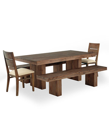 champagne dining room furniture 5 piece set dining table