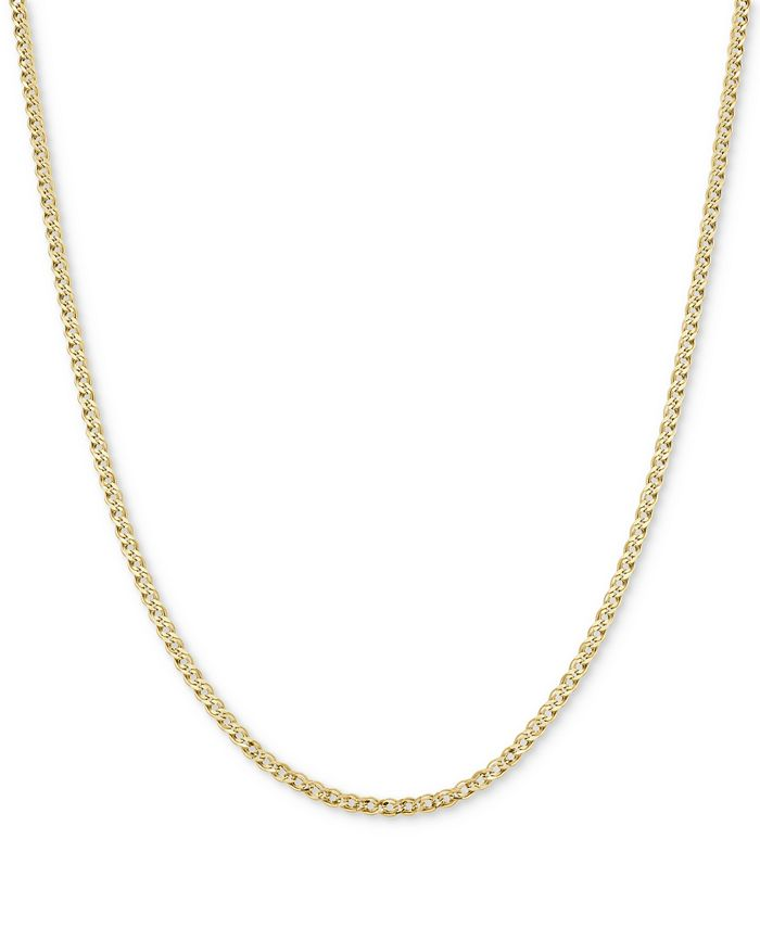 Macy's - Nonna Link Chain Necklace in 14k Gold