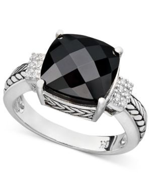 Balissima by Effy Onyx (5-1/5 ct. t.w.) and Diamond Accent in Sterling Silver thumbnail