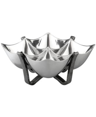 Nambe Serveware, Anvil Metal Quad...