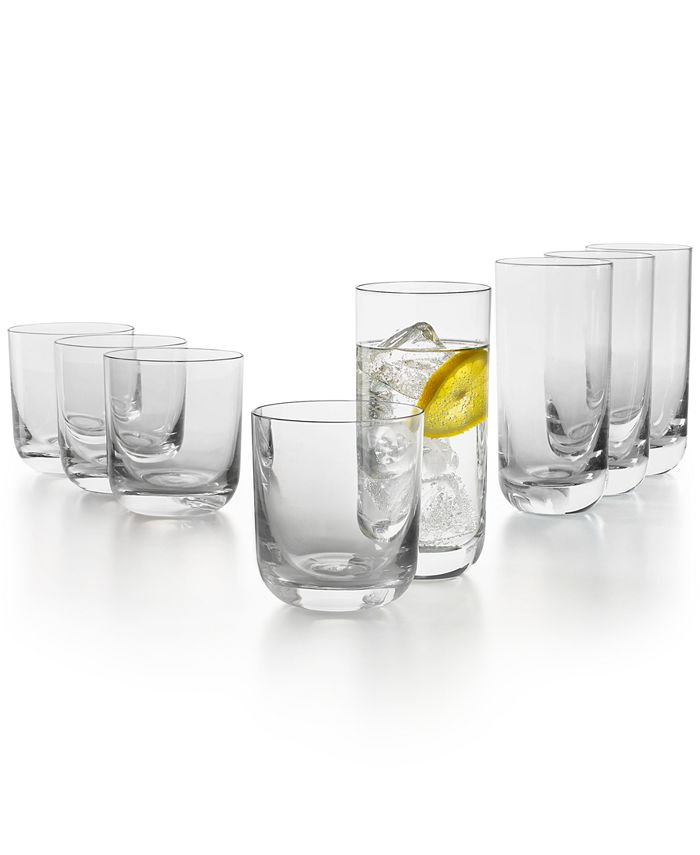 Hotel Collection - Tumbler Glasses, Set of 8