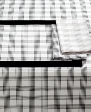 "Lauren Ralph Lauren Table Linens, Glen Plaid 60"" x 104"" Tablecloth"