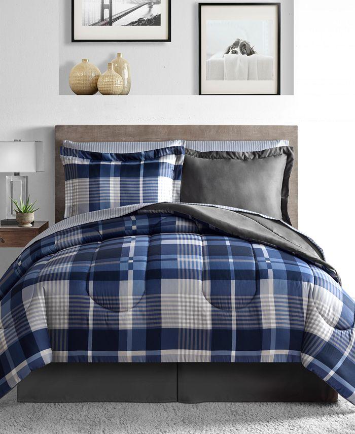 Fairfield Square Collection - Alton 6-Pc. Reversible Twin XL Comforter Set