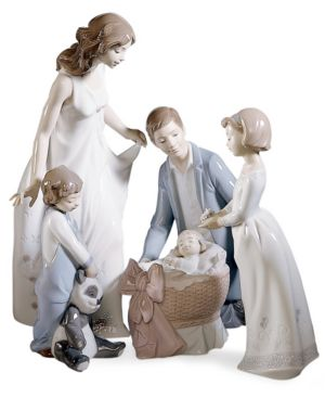 Lladro Collectible Figurine, Wonderful Mother