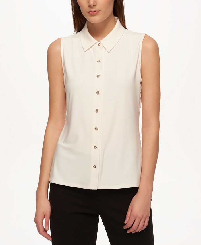 Tommy Hilfiger - Sleeveless Shirt