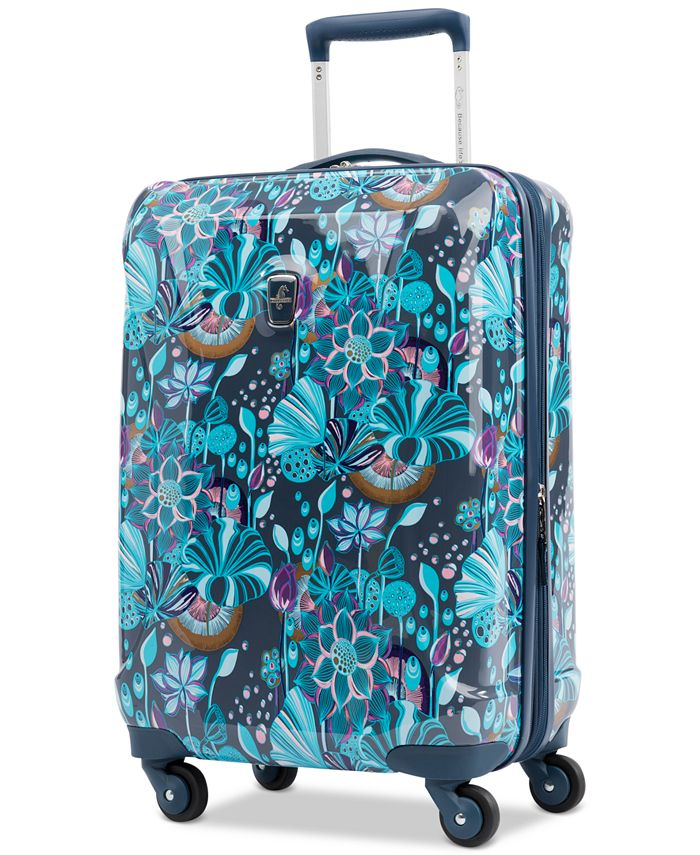 "Atlantic - Infinity Lite 3 Lotus Temple 21"" Hardside Carry-On Spinner Suitcase"