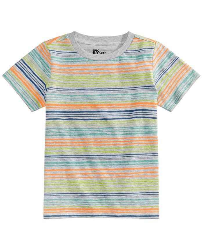 Epic Threads - Monroe Striped T-Shirt, Little Boys
