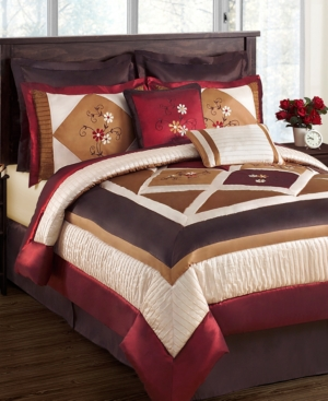 Abbey Road 8 Piece California King Comforter Set Bedding