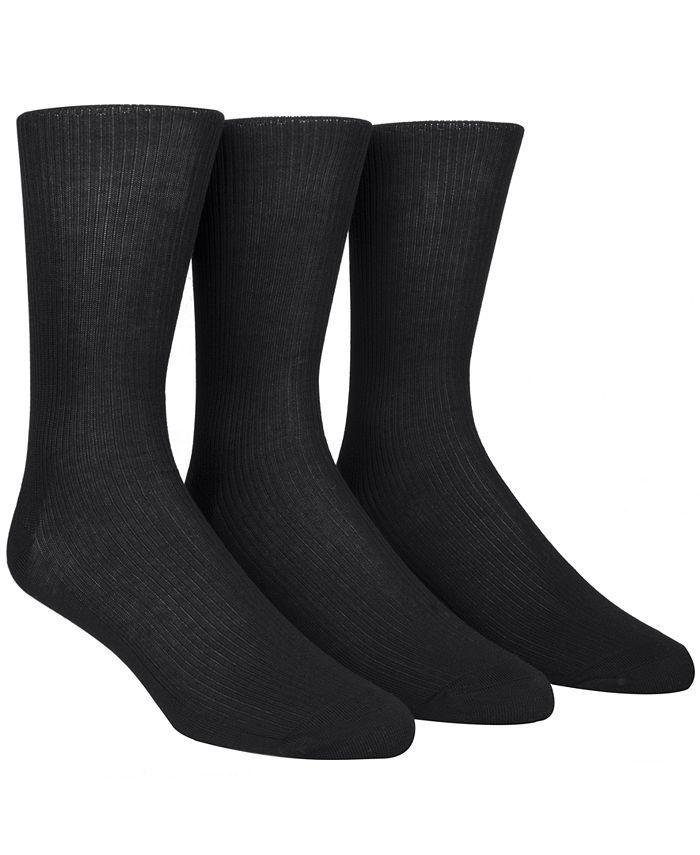 Calvin Klein - Dress Socks, Non Binding 3 Pack