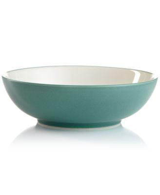 Noritake Dinnerware, Colorwave Turquoise Round Vegetable Bowl