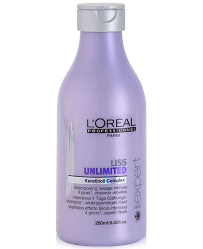 L'oreal - L'OREAL Professional Série Expert Liss Unlimited Smoothing Shampoo, 8.45-oz.