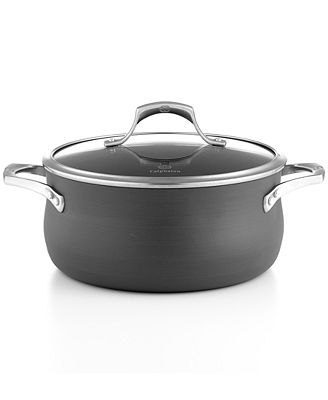 Calphalon Unison Nonstick 13 Wok with Cover, New, Free Shipping Adapted from a traditional round-bottom wok, this flat-bottom wok has a wide cooking surface ideal for stir-frying on gas or electric ranges.