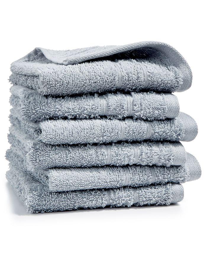 Martha Stewart Collection - 6-Pc Washcloth Set