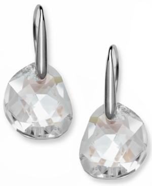 Swarovski Earrings, Galet Crystal Drop