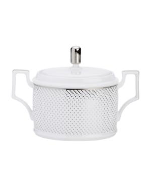 Noritake Dinnerware, Platinum Waltz Sugar Bowl with Lid