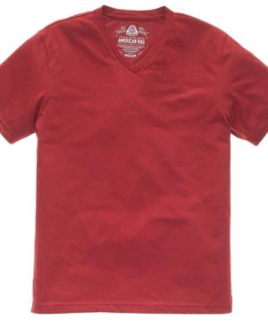 American Rag T Shirt, Basic EDV Slub V Neck