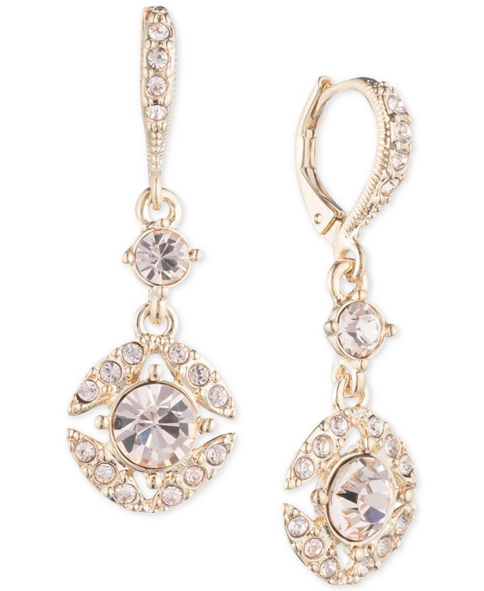 Givenchy - Crystal Drop Earrings