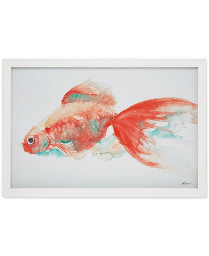 JLA Home - Urban Habitat Gilbert Goldfish Framed Wall Art