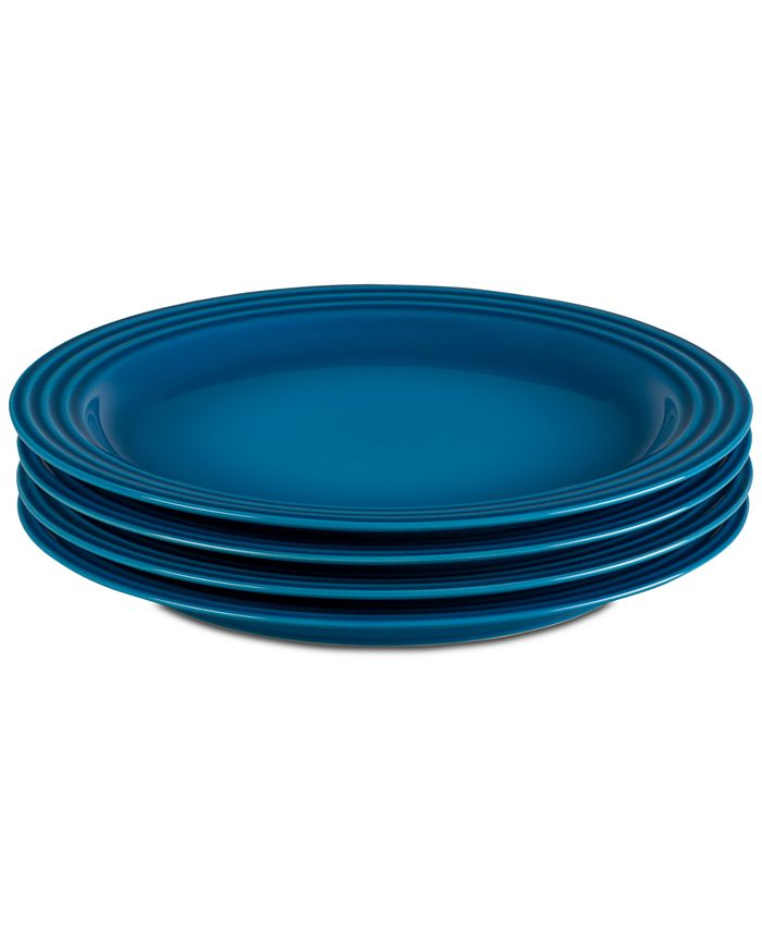 Le Creuset - 4-Pc. Dinner Plates Set