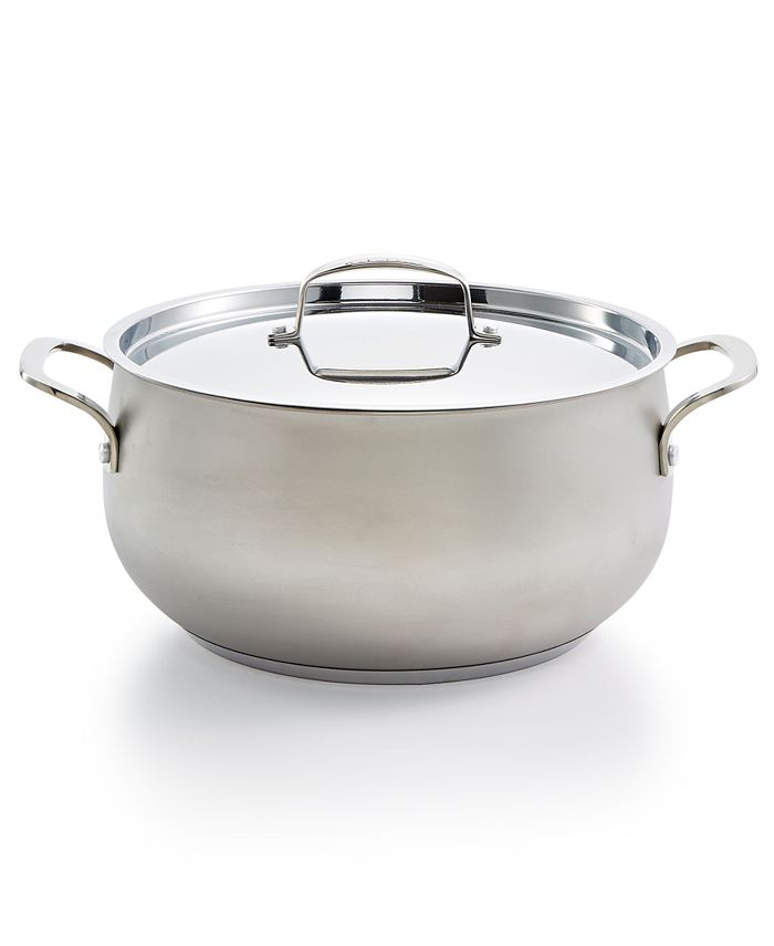 Belgique - Stainless Steel Sand Blasted 7.5qt Dutch Oven