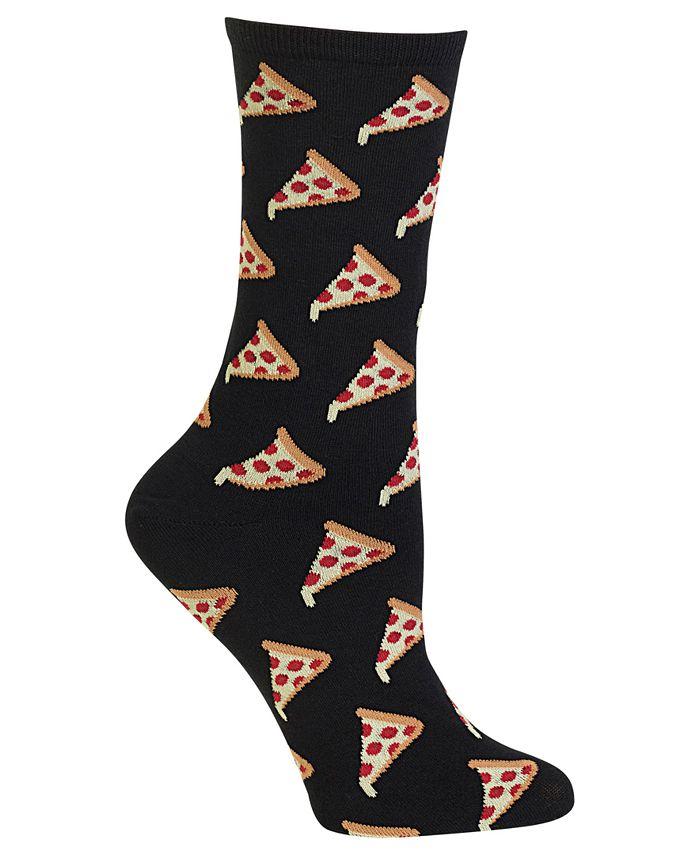 Hot Sox - Pizza Print Socks