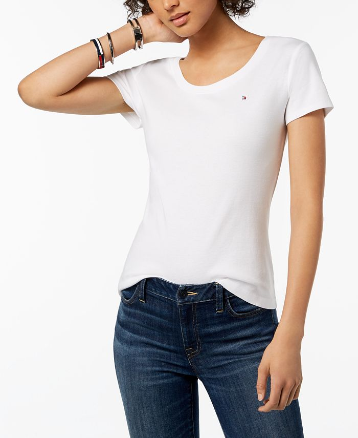 Tommy Hilfiger - Cotton Logo T-Shirt