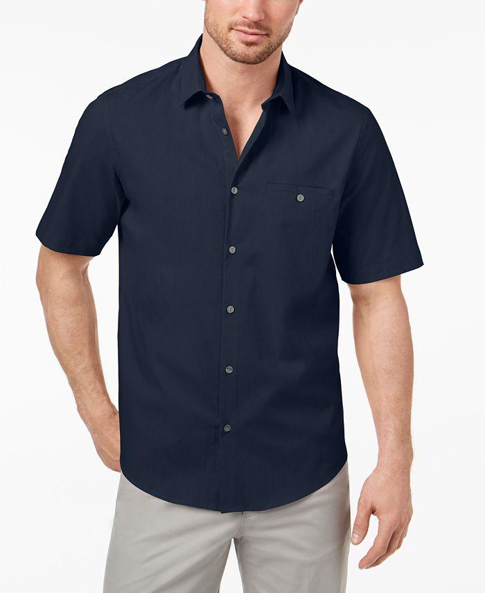 Alfani - Men's Stripe Pocket Shirt
